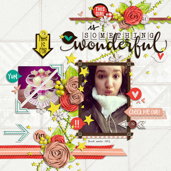 Layout Sample of Something Wonderful | Collection