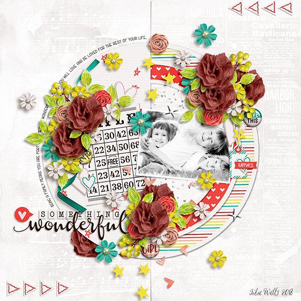 Layout Sample of Something Wonderful   Collection