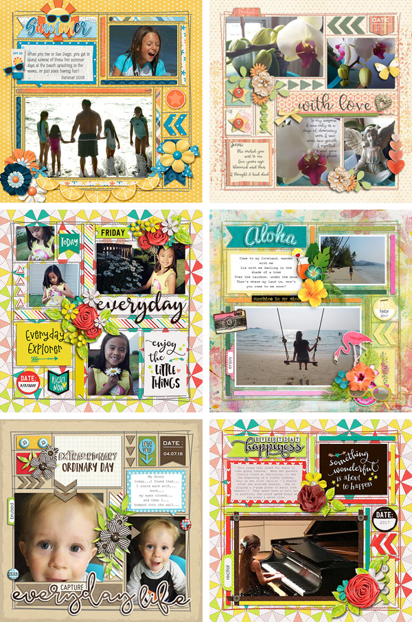 Layout Sample of In The Box 07 | Templates