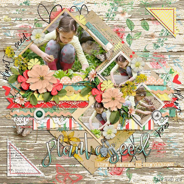 Layout Sample of Stitched Up 08 | Templates