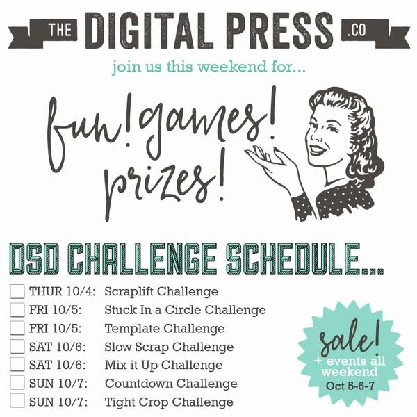 Digital Scrapbooking Day 2018 | The Digital Press
