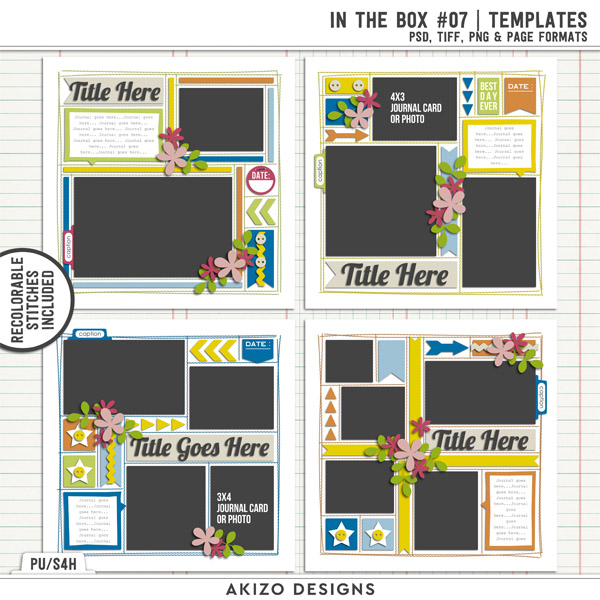 In The Box 07 | Templates by Akizo Designs