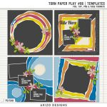 New – Torn Paper Play 06 | Templates