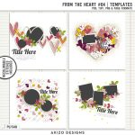 New – From The Heart #04 | Templates