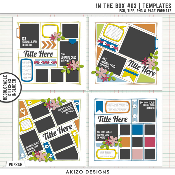 In The Box 03 | Templates by Akizo Designs