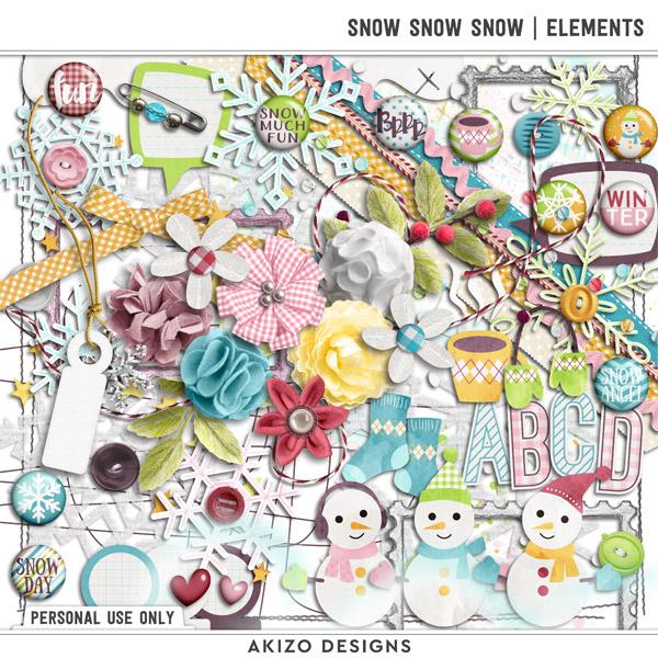 Snow Snow Snow | Kit by Akizo Designs