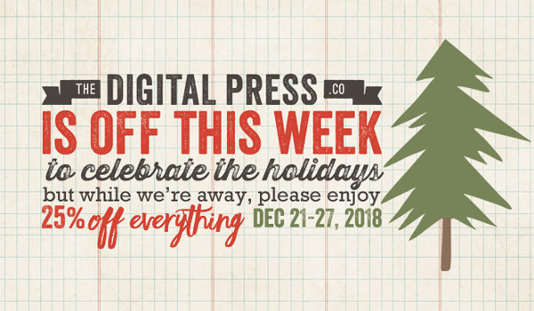 The Digital Press Holiday Sale