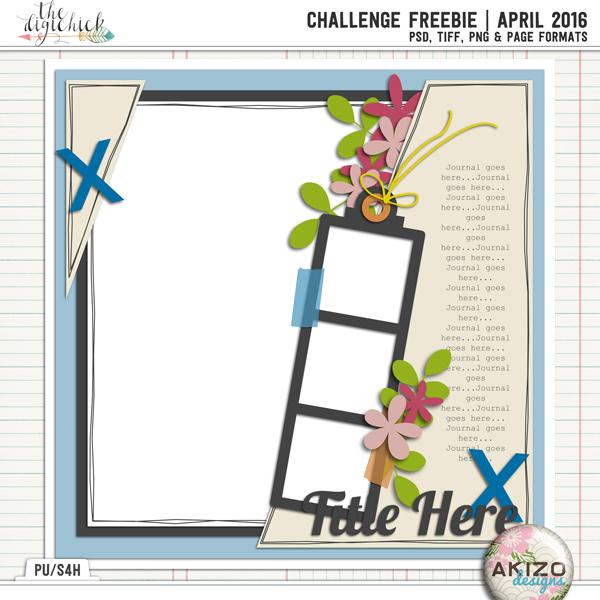 Challenge Freebie