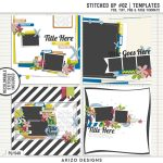 New – Stitched Up #02 | Templates
