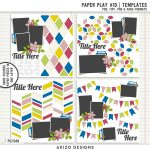 New Templates – Paper Play 10