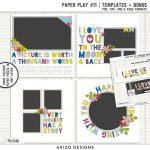 New – Paper Play #11   Templates + Bonus