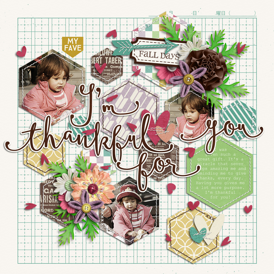 Layout Sample of Stitched Up 01 | Templates