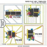 New Templates – Paper Play 06