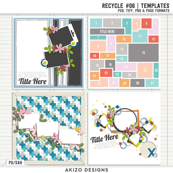 Recycle 06 | Templates by Akizo Designs