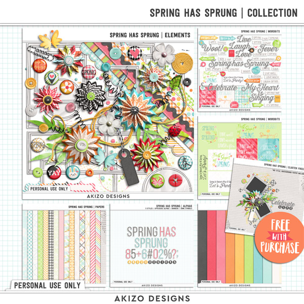 Spring Has Sprung | Collection by Akizo Designs