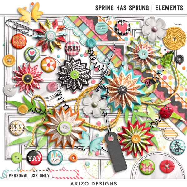 Spring Has Sprung | Elements by Akizo Designs