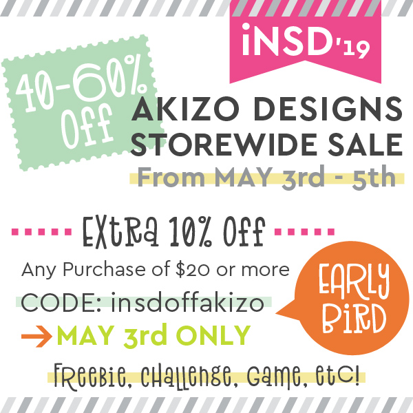 International Scrapbooking Day | Akizo Designs | Digital Scrapbooking