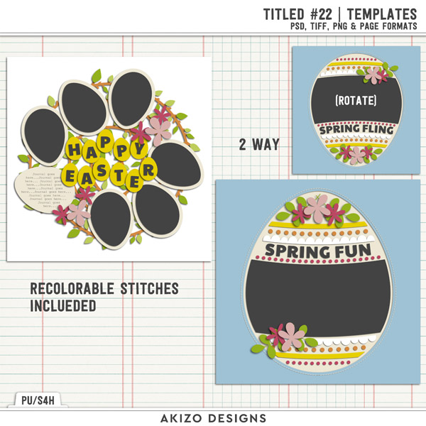 Titled 22 | Templates by Akizo Designs