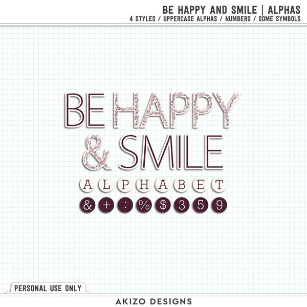Be Happy And Smile | Alphas by Akizo Designs