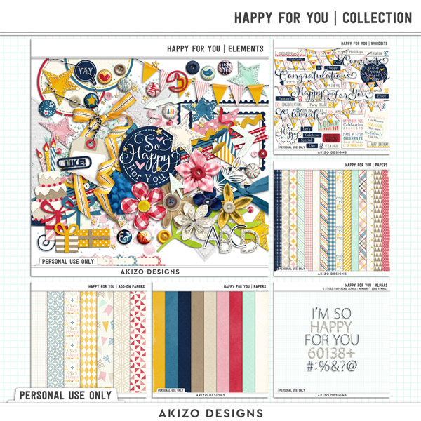 Happy For You | Collection by Akizo Designs
