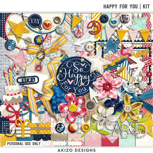 Happy For You | Kit by Akizo Designs