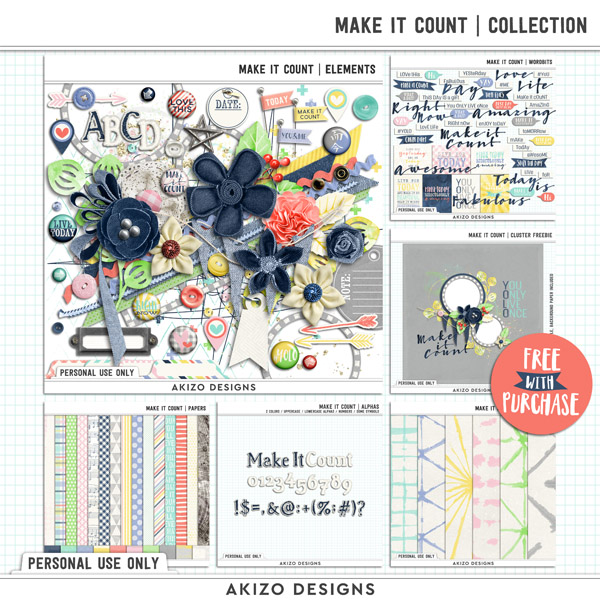 Make It Count | Collection by Akizo Designs