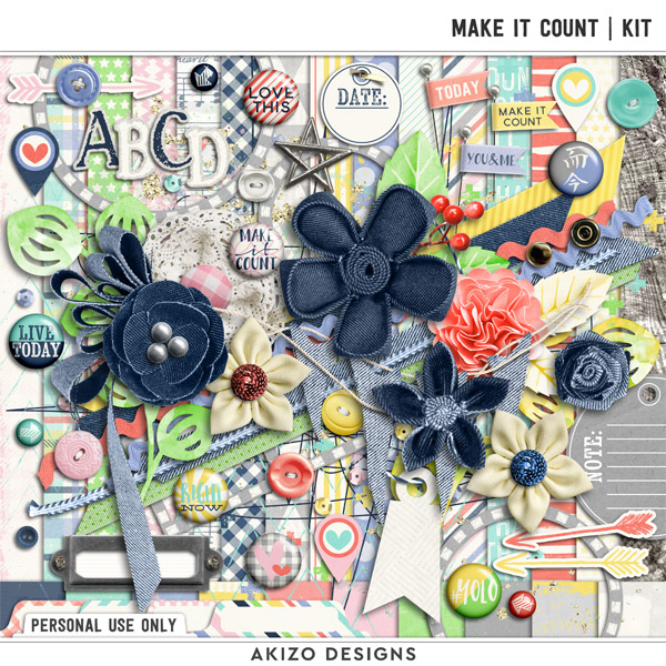 Make It Count | Kit by Akizo Designs