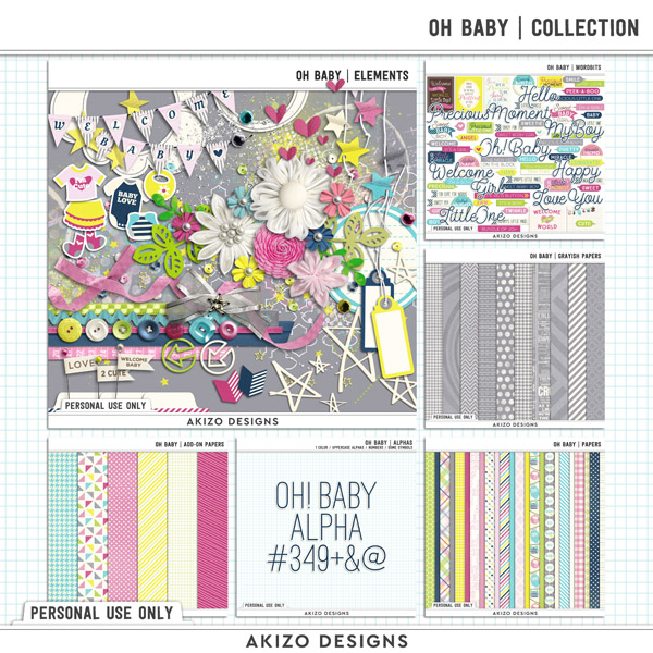 Oh Baby | Collection by Akizo Designs