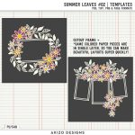 New – Summer Leaves 02 | Templates
