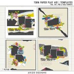 New – Torn Paper Play #01 | Templates