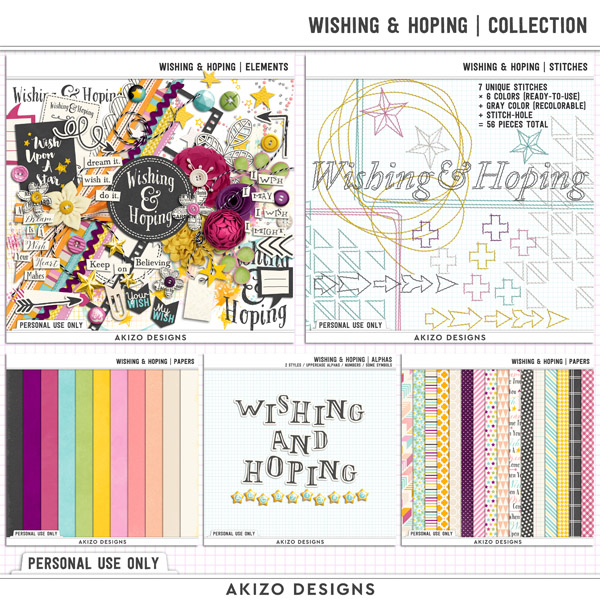 Wishing And Hoping | Collection by Akizo Designs