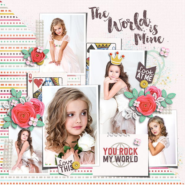 Layout Sample of Photo Addict 12 | Templates