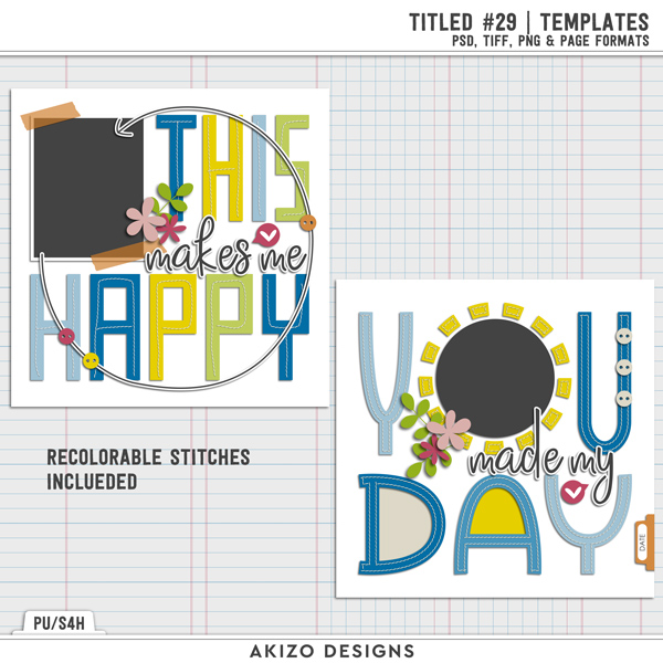 Titled 29 | Templates by Akizo Designs