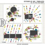 New – Stitched Up #05   Templates