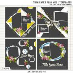 New – Torn Paper Play 05 | Templates