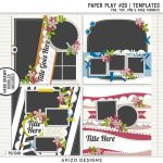 New – Paper Play 20   Templates
