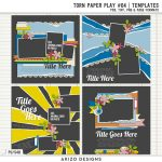 New – Torn Paper Play 04 | Templates