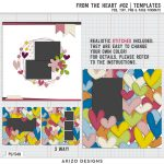 New Templates – From The Heart #2