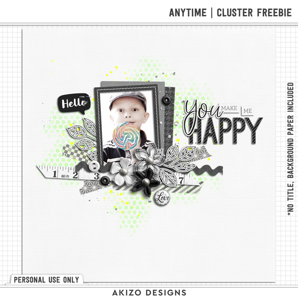Anytime Cluster Freebie