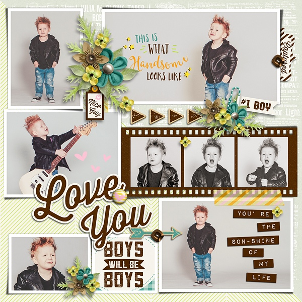 Layout Sample of Photo Addict 13 | Templates