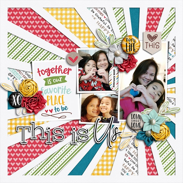 Layout Sample of You + Me = Us | Collection