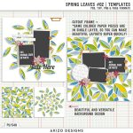 New – Spring Leaves 02 | Templates