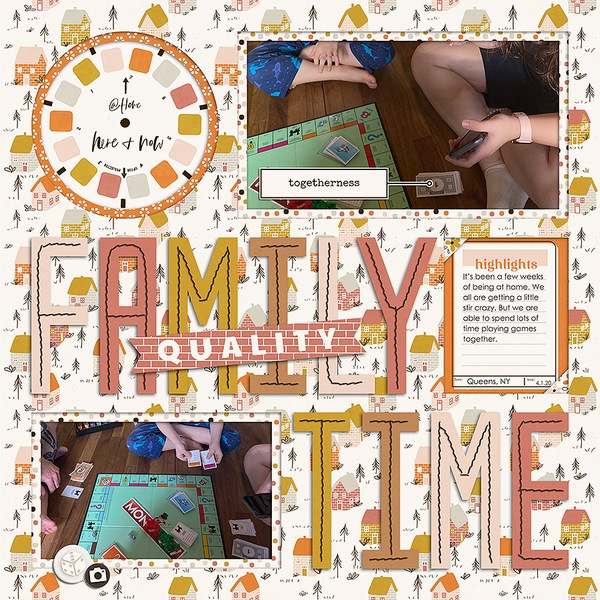 Layout Sample of Titled 30 | Templates