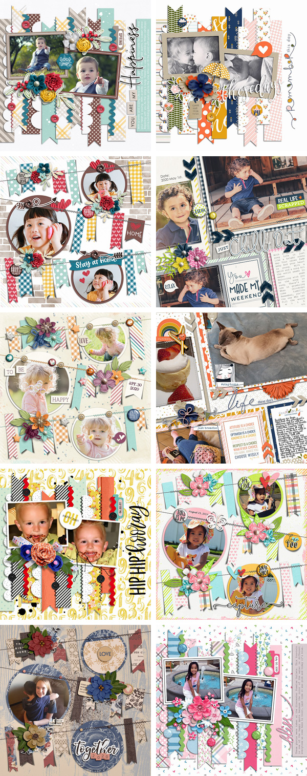 Layout Sample of Stitched Up 09 | Templates