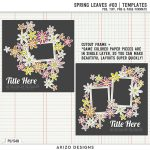 New – Spring Leaves 03 | Templates