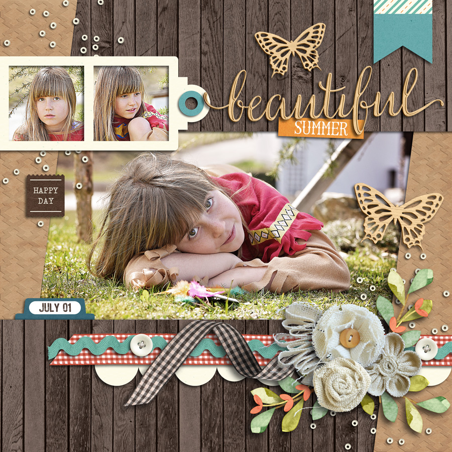 Layout Sample of Template Challenge July 2020
