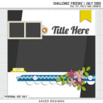 Template Challenge July 2020 + Freebie