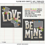 New – Playing With Confetti #03   Templates