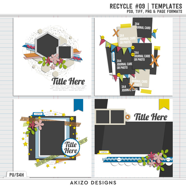 Recycle 09 | Templates by Akizo Designs