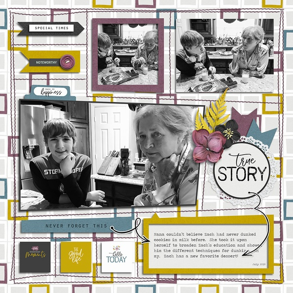 Layout Sample of In The Box 08 | Templates